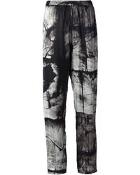 Abstract print trousers medium 388076
