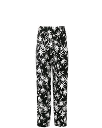 Lanvin High Waisted Printed Trousers