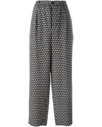 Printed wide leg trousers medium 388069