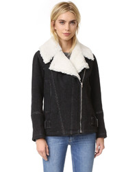 Soizit shearling jacket medium 1326617