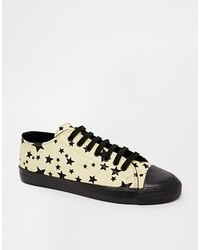 Star print sneakers beige medium 127700
