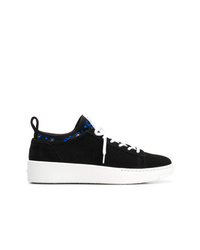Kenzo Contrast Lace Up Sneakers
