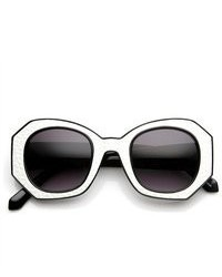 Black and White Sunglasses