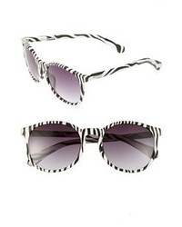 Kenneth Cole Reaction 54mm Sunglasses Zebra Pattern One Size
