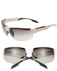 Prada 71mm Semi Rimless Sunglasses