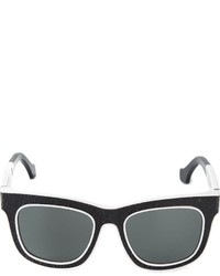 Balenciaga Cracked Effect Sunglasses