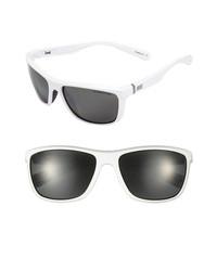 Nike Swag 60mm Polarized Sunglasses White One Size