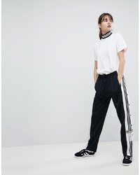adidas Originals Adicolor Popper Pants In Black