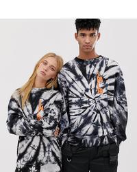 Collusion Unisex Super Tie Dye Sweatshirt
