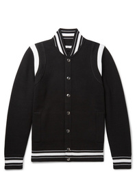 Givenchy Logo Embroidered Wool Varsity Jacket