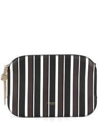 Striped clutch medium 1252154
