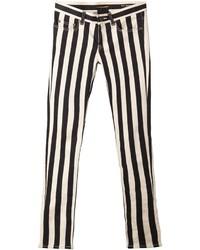 Striped skinny jeans medium 152212