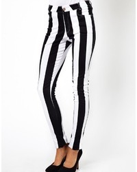 Jordan jean with white stripe blackwhite stripe medium 18564