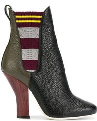 Fendi Colour Block Boots