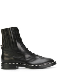 Casadei Crystal Trimmed City Rock Boots