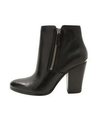 Michael Kors Denver Bootie Ankle Boots Black