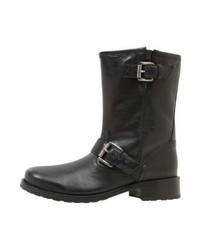 Michael Kors Jonas Bootie Cowboybiker Boots Black