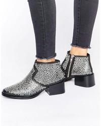 Sol Sana Lou Eyelet Heeled Ankle Boots