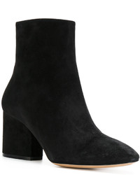 Salvatore Ferragamo Wave Heel Booties