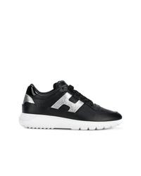 Hogan Panelled Sneakers