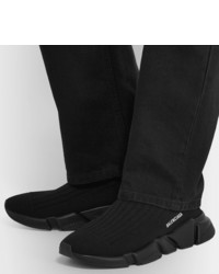 Speed Sock Stretch knit Slip on Sneakers