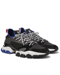 Moncler Trevor Mesh Neoprene Suede And Rubber Sneakers