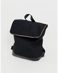 ASOS DESIGN Backpack With Rose