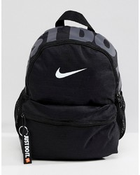 Nike Black Just Do It Logo Mini Backpack