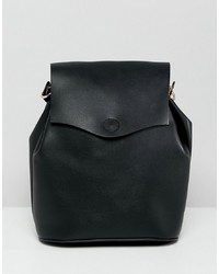 New Look Eyelet Detail Backpack