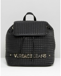 Versace Jeans Backpack With Gold Letters