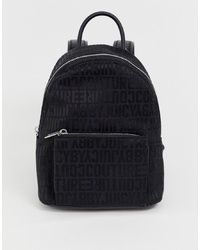 Juicy Couture Juicy By Jacquard Logo Medium Sized Backpack