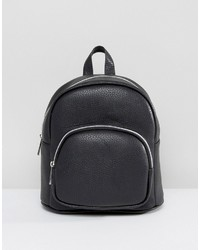 Asos Mini Backpack With Front Pocket