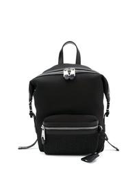 Moschino Neoprene Logo Backpack