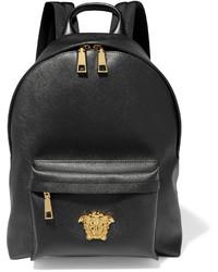 Versace Palazzo Brushed Pvc Backpack Black