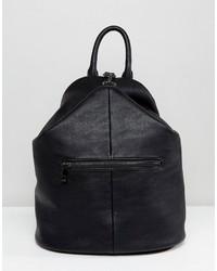 Asos Reverse Dogclip Backpack