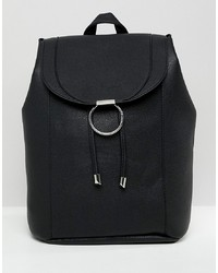 New Look Ring Detail Backpack