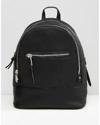 Mango Zip Detail Backpack