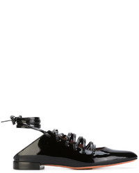 Givenchy Lace Up Ballerinas