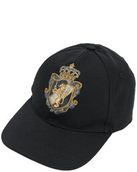 Dolce & Gabbana Crest Applique Baseball Hat