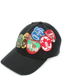 DSQUARED2 Patch Embroidered Baseball Cap