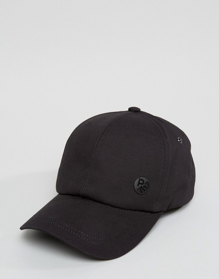 ... Paul Smith Ps By Baseball Cap In Black ... dadc93eb942