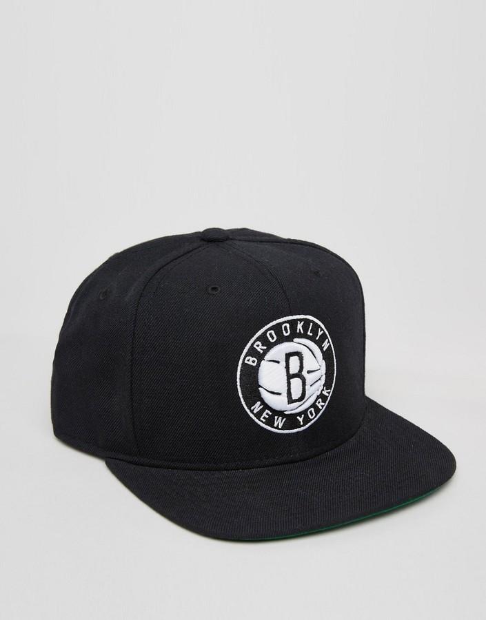 73448d87b76d1 ... Mitchell   Ness Snapback Cap Brooklyn ...