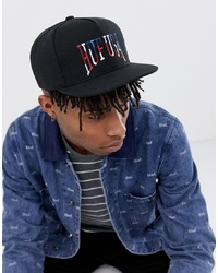 HUF Usa University Snapback Cap In Black