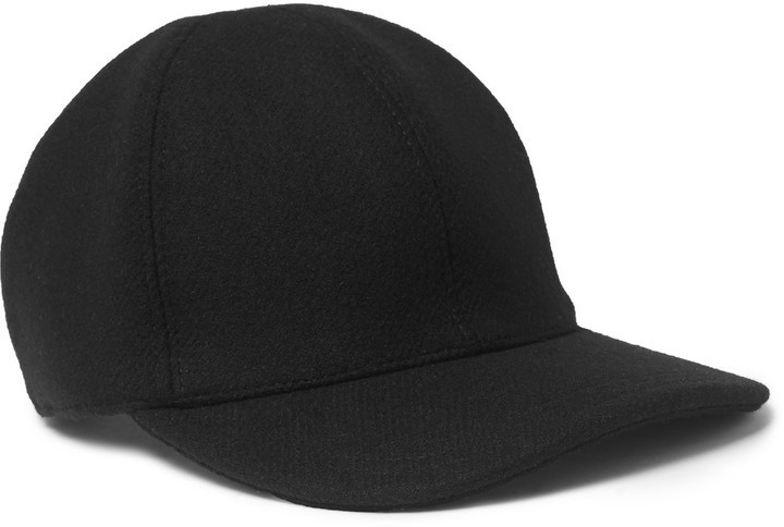 ... Prada Wool Felt Baseball Cap ... b3098ca6cbb
