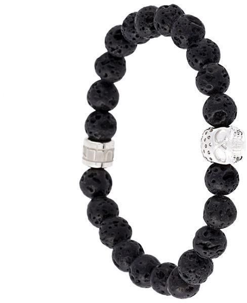 Northskull beaded bracelet - Black 1suvEZg