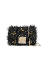 Furla Mini Textured Beaded Metropolis Bag