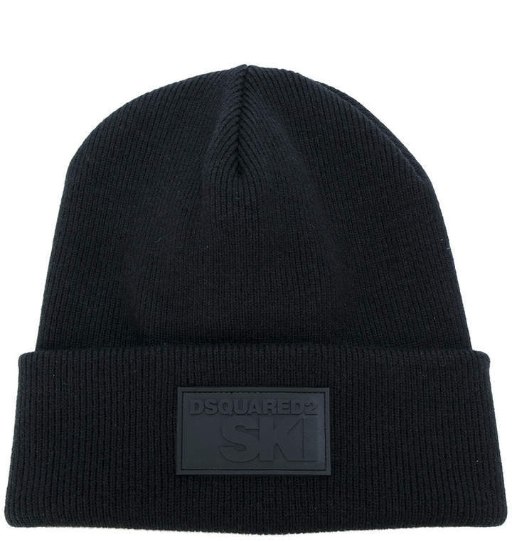 DSQUARED2 Branded Patch Beanie