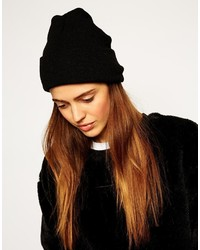 Asos Collection Deep Turn Up Beanie