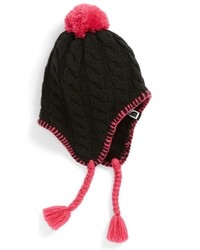 The North Face Girls Flecka Earflap Beanie Black