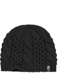 The North Face Girls Minna Cable Knit Beanie Pink